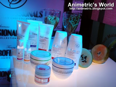 Fanny Serrano Professional Hair Care line
