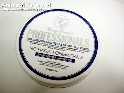 Fanny Serrano Professionals Hair Strengthening Treatment Hair Fall Control