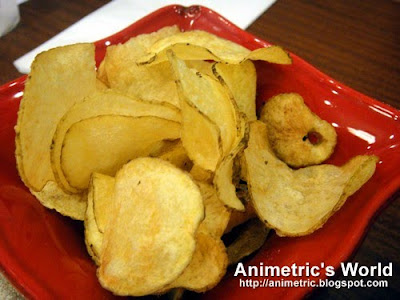 Potato Chips at Chuck's Deli, Serendra