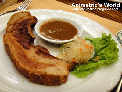 Lechon Kawali at Timberland Sports and Nature Club
