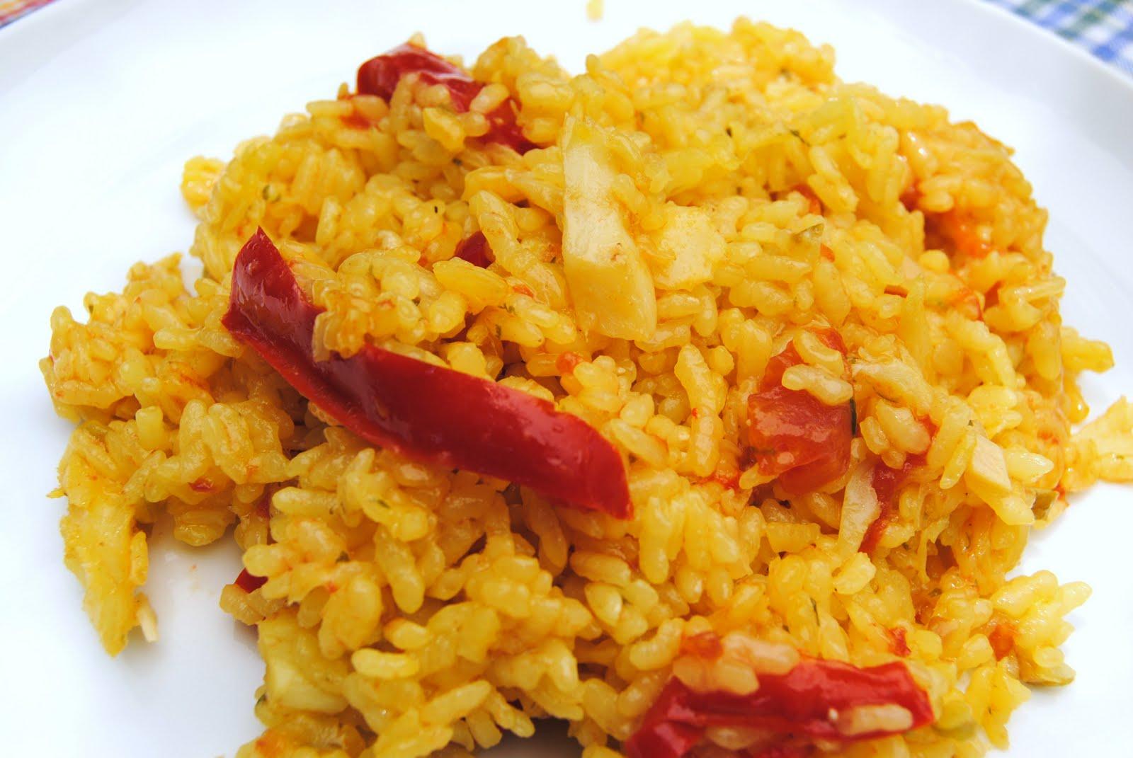 Del mercado al plato arroz con bacalao - Arroz con bacalao desmigado ...