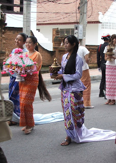 >Kathina ceremony in Chiang Mai