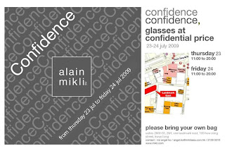 Hong Kong Fashion Geek: Alain Mikli Sample Sale