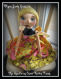 Polymer Clay  Folk Art Dolls