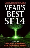 Cover image of the anthology titled Year's Best SF 14 by David Hartwell and Kathryn Cramer