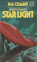Cover image of the novel titled Star Light by Hal Clement