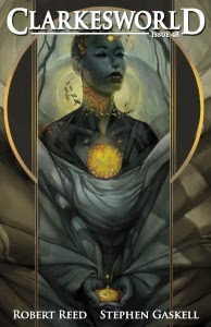 Cover titled Honeycomb by Julie Dillon of Clarkesworld magazine, September 2010 issue
