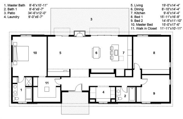Podemos Ver 3 Dormitorios El Principal Con Ba 241 O En Suite