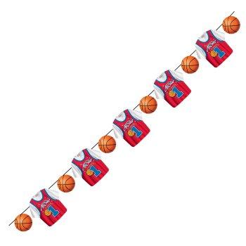 Fiesta infantil deportiva decoraci n de basketball todo for Decoracion deportiva