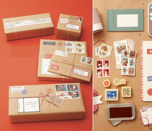 Paquetes de regalo con un toque m gico navidad de deseos - Paquetes originales para regalos ...