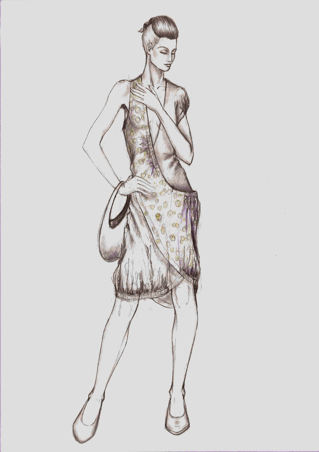 Dibujos de dise o de moda imagui for Dibujos de disenos de moda