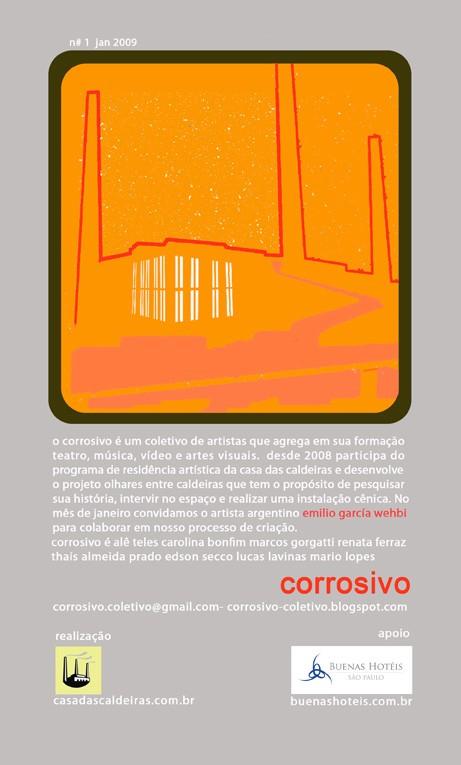 O Corrosivo                 +                   Emilio Garcia Wehbi