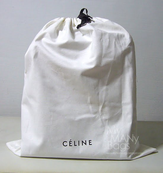 celine two-material pochette
