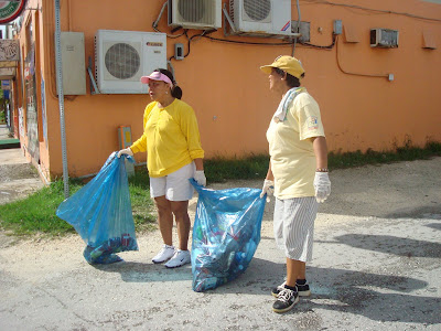 August 5, 2007 Garapan cleanup