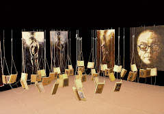 1996 - 2009: Ariadnes Raum (Buchinstallation)