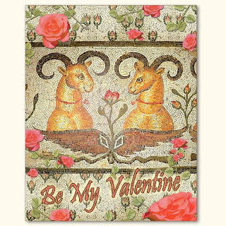 Valentine's Day Card Deer Love