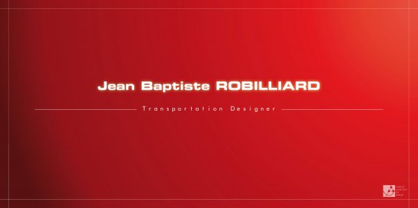 Jean Baptiste Robilliard design works