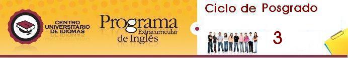 Ciclo de Posgrado 3 - Centro Univ. de Idiomas