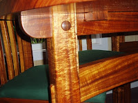 Heirloom furniture Hawaiian Koa wood table