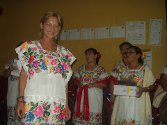 Lin in Huipil Sings Mayan Song
