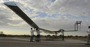 Zephyr Solar Plane