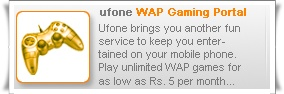 Ufone Wap Gaming Portal