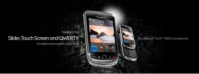 BlackBerry® Torch™ 9800 Ufone