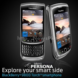 Blackberry® Torch™ 9800 by Telenor