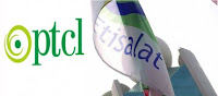 PTCL and Etisalat Flags