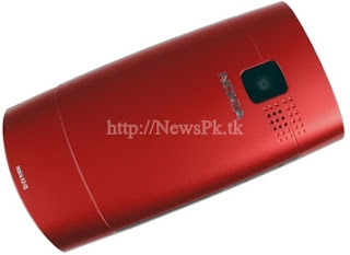 Nokia X2-01 Red Back