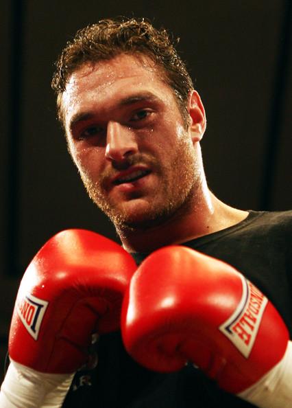 tyson fury takes  francois botha february  british boxing bbtv