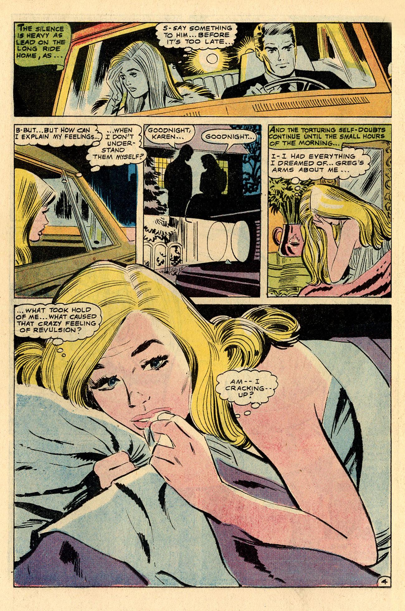 Read online Secret Hearts comic -  Issue #137 - 22