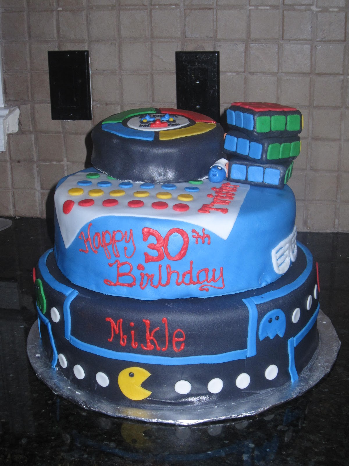 Heathers Cake Cake Sweet 80s 80s Themed Birthday Cake For Mikle