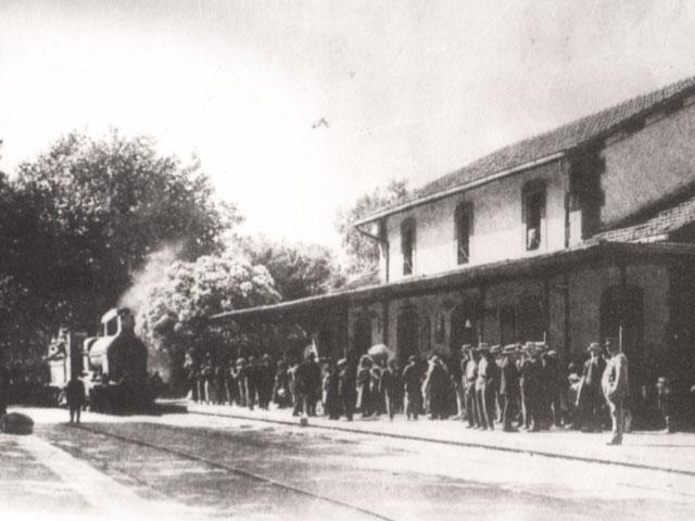 Antigua estación de Carril