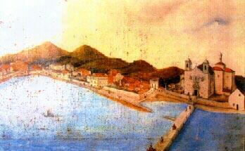 Vilagarcia en 1870