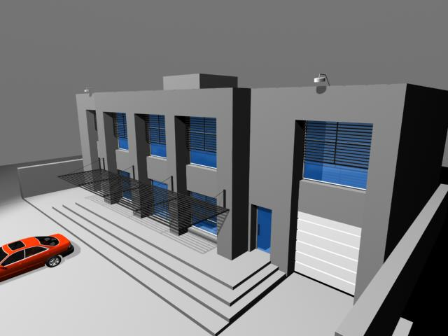 Proyecto Bodega 3d