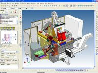 3D CAD CAM design software for machine and product design