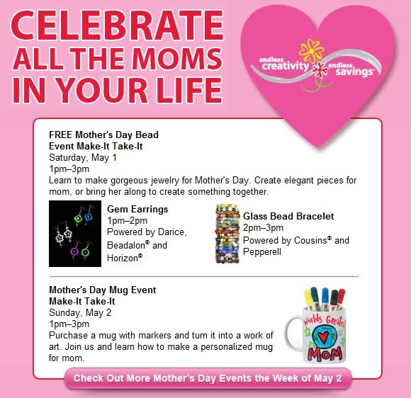 Ann arbor mom blog mothers day make it take it craft for Make it take it crafts