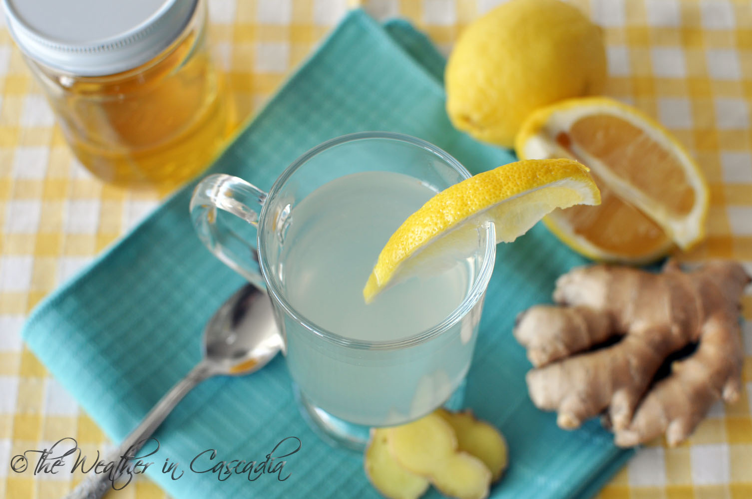 The Weather in Cascadia: Ginger, Lemon, & Honey: Tea for the Season