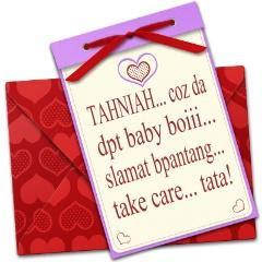 Yang ni pulak, hadiah dari Kelat untuk baby Intan - Muhammad Shahir ...