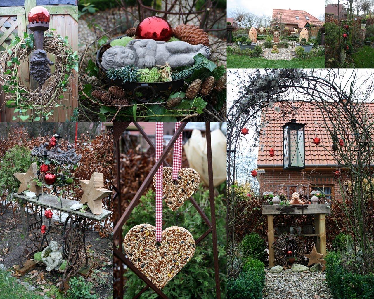 Frisian garden advent im garten - Gartendeko winter ...