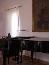 Mis dos pasiones: la pintura y mi piano