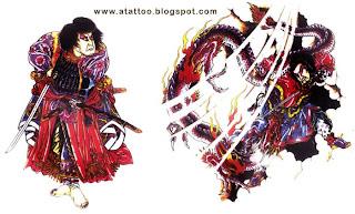 Samurais com Dragão
