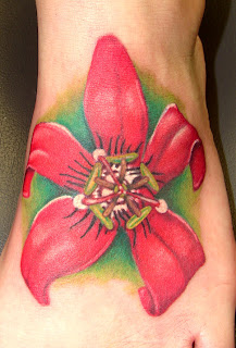 Tattoo no pé