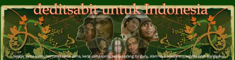 -:::| deditsabit untuk Indonesia |:::-