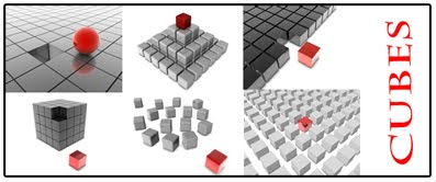 cubes+3d