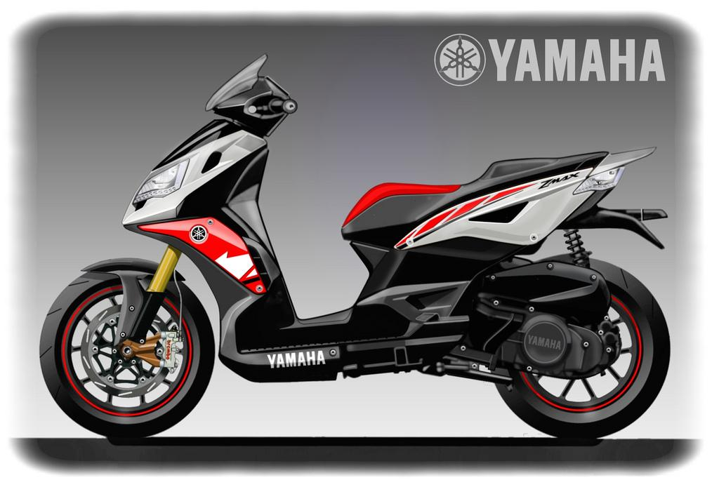 NEW YAMAHA Z MAX 320   New Motosport - Custom - Concept - Modification