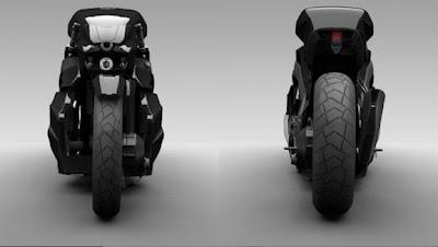 persian Ostoure-Super Naked-Bike