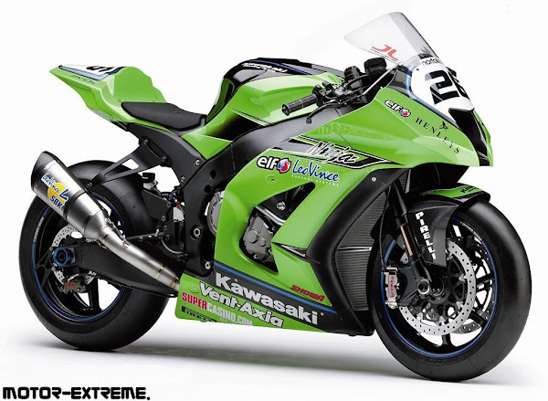 improvement Kawasaki Ninja ZX-10R new Chase Bike Race Bike