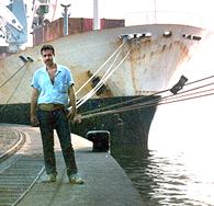 Entrei de gaiato num navio